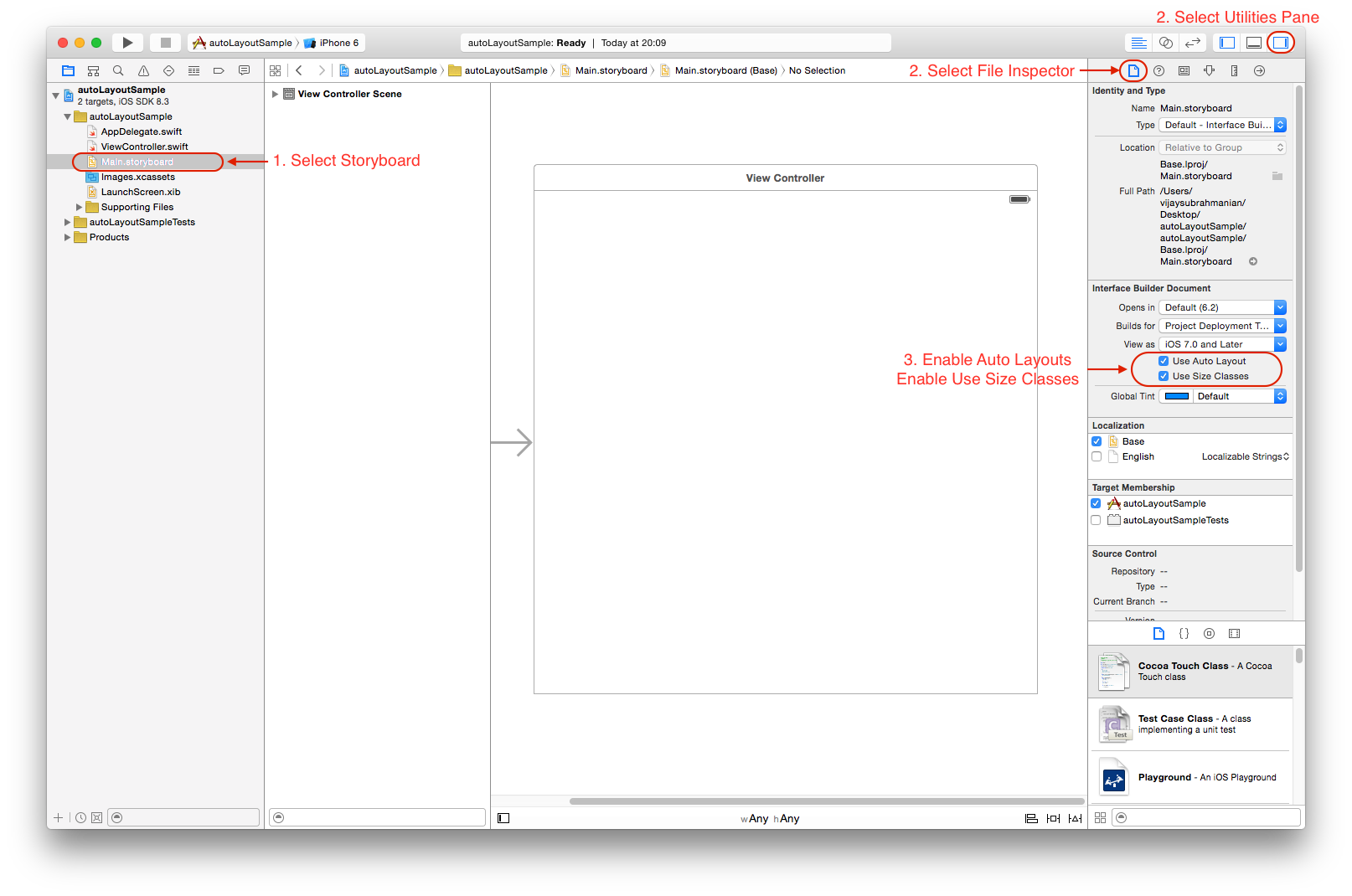 xcode interface builder